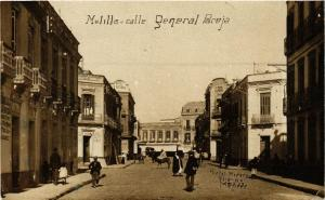 CPA MELILLA Calle General Paceja SPAIN (674203)
