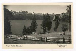 RP  Lago Traful (Mirador), Argentina, 20-40s