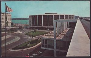 Cobo Hall and Arena,Detroit,MI Postcard BIN