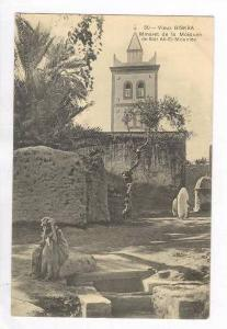Minaret de la Mosquee de Sidi Ab-El-Moumen,Vieux Biskra