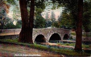 Connecticut Stamford North Street Bridge 1911