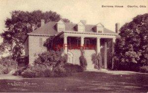 BARROWS HOUSE, OBERLIN, OHIO