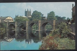 Herefordshire Postcard - Bridge and Cathedral, Hereford  MB571