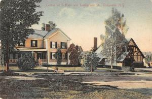 Corner of S. Main and Lamberson, Dolgeville, New York Antique Postcard (T1824)