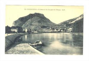 Boat, L'Isere Et Les Casque De Neron, Grenoble (Isere), France, 1900-1910s
