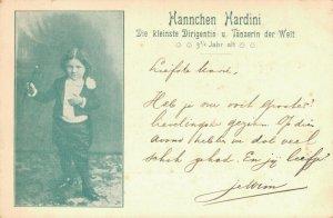 CIRCUS - SMALLEST MUSIC CONDUCTOR HANNCHEN HARDINI 03.98