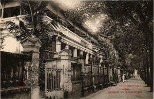 CPA AK INDOCHINA Saigon Cadastre et Topographie VIETNAM (956626)