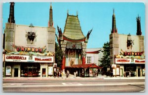 Hollywood CA~Cinemiracle~Grauman's Chinese Theatre~Oslo Ship Radich Story 1960