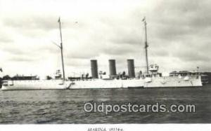 Marina 08114-a Flygia Military Battleship Postcard Post Card Old Vintage Anti...