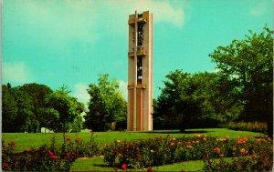 Springfield IL Thomas Rees Memorial Carillon Postcard unused (13871)