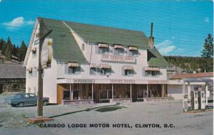 Exterior,  Cariboo Lodge Motor Hotel in Clinton,  B.C.,  Canada,  40-60s