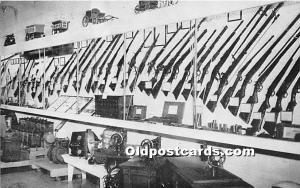 Minden, Nebraska, NE, USA Postcard Firearms Development, Pioneer Village Unused