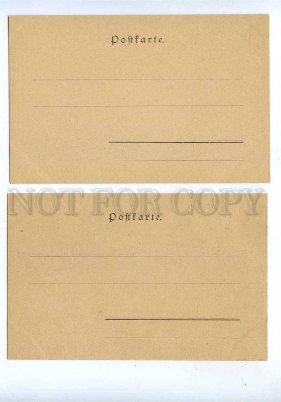 189347 CIRCUS ALLHEIL Set 10 cards ART NOUVEAU PHILIPP KRAMER