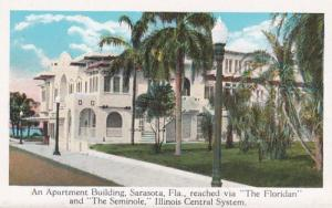 Florida Sarasota An Apartment Building Reached Via The Floridan & The Seminol...