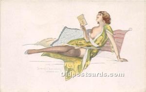 London 1916 Nude Unused Internal indentation