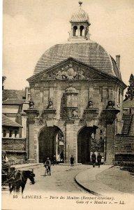 France - Langres. Gate of Moulins