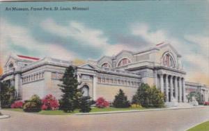 Art Mueum Forest Park St Louis Missouri 1945