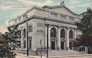 Ohio Cincinnati Hamilton County Memorial Building 1912