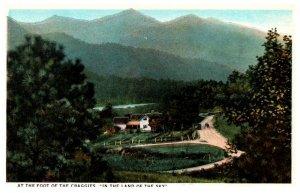 North Carolina at the foot of the Craggies , land of the sky
