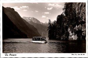 Der Königssee Landscape Mountains vintage postcard