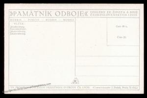 Czech Legion in Russia WWI Ekaterinburg Tsar Soldier Artist Signed Patriot 90322