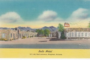 KINGMAN, Arizona, 30-40s; Bells Motel , Route 66
