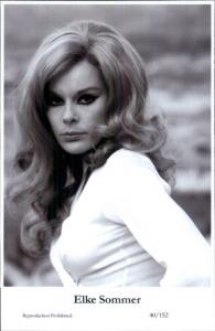Beautiful Actress ELKE SOMMER 40/152 Swiftsure 2000 Postcard GREAT QUALITY
