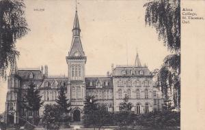 ST. THOMAS , Ontario , Canada , PU-1910; Alma College