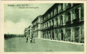 CPA Taranto Corso due Mari Palazzo dell'Ammiragliato ITALY (802104)