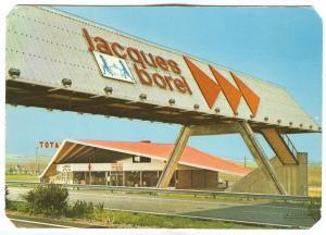 France, Restaurants Jacques BOREL, Autoroute A 6, 1972 used Postcard