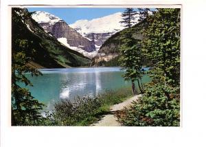 Lake Louise, Mount Lafroy, Mount Victoria,  Alberta, John Hinde