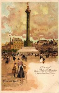 CPA Paris 12e Colonne de la Bastille Souvenir de la Belle Jardiniere (478679)