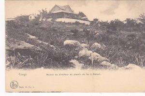 Belgian Congo Maison du directeur du chemin de fer a Matadi