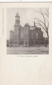 HAVERHILL , Massachusetts, PRE-1907; City Hall
