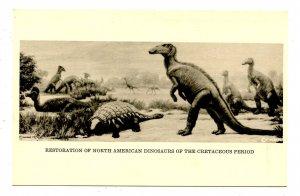 Restoration of North American Dinosaurs