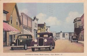 Commercial Street , NORTH SYDNEY , Cape Breton , Nova Scotia , Canada , PU-1938