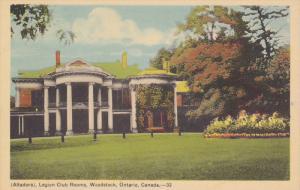 Altadore, Legion Club Rooms, Woodstock, Ontario, Canada, 1910-1920s