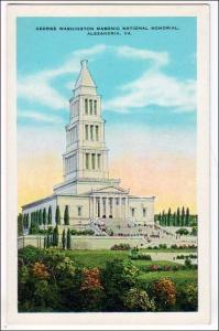 George Washington Masonic Nat memorial, Alexandria VA
