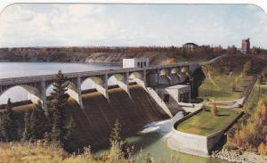 Autumn Trees, Picturesque View of Glenmore Dam and Reservoir, South West Calg...