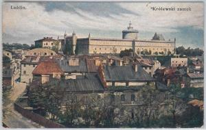 POLAND -  Vintage Postcard archiwalne pocztówki - LUBLIN