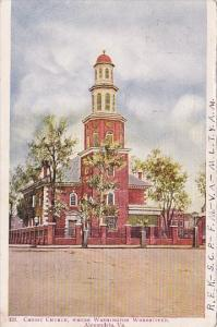 Virginia Alexandria Christ Church Where Washington Worshipped 1904