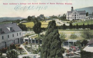 SANTA BARBARA MISSION, California, 00-10s; St. Anthony's College & Sacred Garden