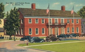 USA Post Office and Custom House St. Albans Vermont 03.51