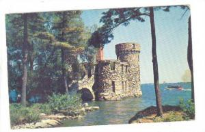 Old Power House at Boldt castle on Heart Island, Thousand Islands, Ontario, C...