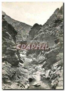 Modern Postcard Corsica Ile de Beaute The remarquebles gorges of God in the p...