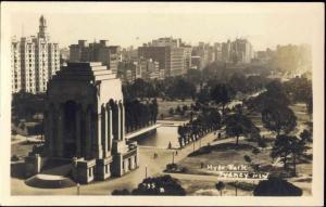 australia, SYDNEY, Hyde Park, ANZAC War Memorial (1930s) RPPC