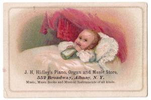 J. H. Hidley's Piano, Organ, & Music Store, Albany NY