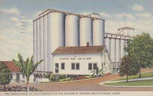 Michigan Battle Creek The Birthplace Of Post Products In The Shodow Of Modern...
