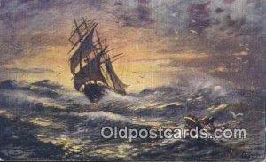 Sailboat Unused light wear