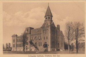 CHATHAM , Ontario , Canada , 1900-10s ; Collegiate Institute
